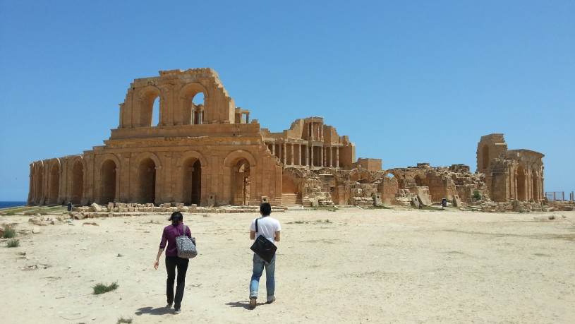 Sabratha archaeological site